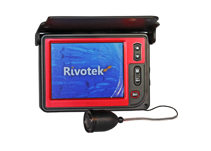 Подводная камера Rivotek LQ-3505DПодводные камеры<br>Камера Rivotek LQ-3505D - это продвинутая версия подводной видеокамеры. LQ-3505D оснащена дисплеем 3,5 дюймов и функцией записи видео на внутреннюю память. Защита экрана от бликов позволяет использовать камеру на солнце, а благодаря светодиодной подсветке...<br>