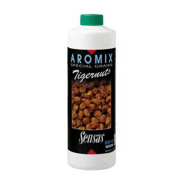 Ароматизатор Sensas Aromix Tiger Slim 0,5лАроматизаторы / Добавки<br>Жидкий ароматизатор для замешивания прикормки. Рекомендуется добавлять в воду, которую потом используют для замешивания<br>