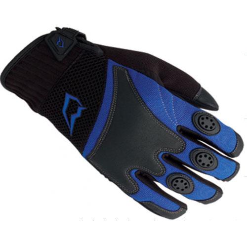 Перчатки UMC ZAM-012, размер L, сине-черныеПерчатки<br>Неопрен, микрофибра, бурле, пропитанная полиуретаном кожа, SBR, сетчатый материал<br>