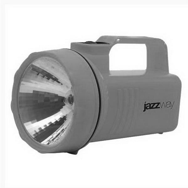 Фонарь Jazzway P2-K-4DФонари ручные<br>Фонарь – прожектор на батарейках. Свет излучается за счет криптоновой лампы, яркость которой на 70 % больше обычной лампы накаливания.<br>