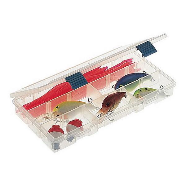 Коробка Plano 2-3500-00Коробки<br>Коробка для рыболовных принадлежностей, выполнена из ударопрочного пластика, с надежными запорами.<br>