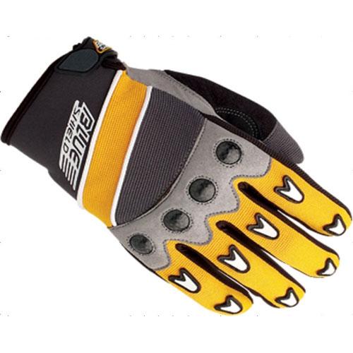 Перчатки UMC ZAM-014, размер L, желто-черныеВарежки/Перчатки<br>Дышащий неопрен, микрофибра, пропитанная полиуретаном кожа, силиконовая защита, поливинилхлоридный каучук, карбоновые вставки<br>