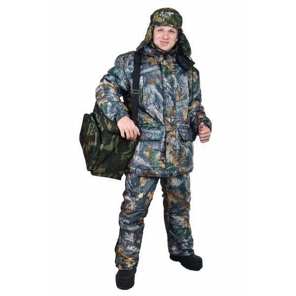 Костюм Алом-Дар зимний Рыбак (Oxford) (темн. лес) (р. 48-50, ) (69531)Костюмы/комбинезоны<br>Зимний костюм для рыбалки, предназначен для использования в холодное время года, когда температура воздуха достигает от -35<br>