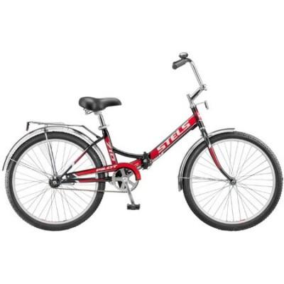 Велосипед Stels Pilot-710 24 15Велосипеды Stels<br>Лёгкий и комфортный складной велосипед Stels Pilot 710 2015 года на 24-дюймовых колёсах отлично подойдет тем, кто предпочитает разумную экономию и хочет приобрести надежную, но недорогую модель для катания по ровным дорогам. Эргономичный складывающийся ме...<br>