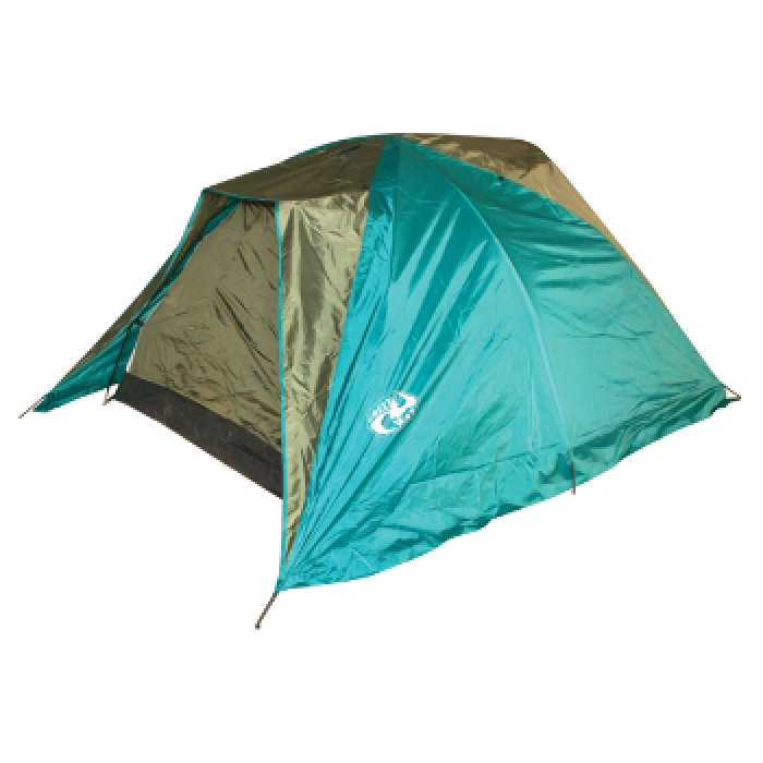 Палатка Greenway 2 местная Detroit  227B - 2FRТПалатки<br>Туристическая двухместная двухслойная палатка Detroit с 2-мя козырьками. Палатка оснащена 2-мя входами с противомоскитной сеткой, окном, 2-мя карманами. 2 входа с противомоскитной сеткой<br>