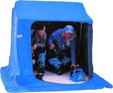 Палатка для зимней рыбалки Mora Ice Trup GuideПалатки для зимней рыбалки<br>Мобильная, практичная и многофункциональная палатка с санями.<br>