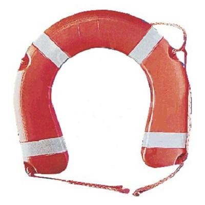 Круг ОПЫТ спасательный Подкова; (ПВХ)Другие средства спасения<br>Подкова имеет не замкнутую окружность что позволяет спасаться не подныривая под нее, это особенно важно при попадании в холодную воду.<br>