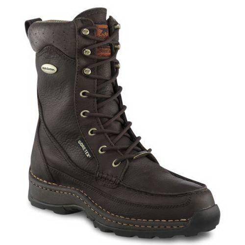 Ботинки Irish Setter Ground Sensing мужск., верх: кожа, GORE-TEX неутепл., р-р 43, цвет коричневый (66667)Ботинки<br>Ботинки для охоты, идеальны для долгого пребывания на природе, бесшумного передвижения.<br>