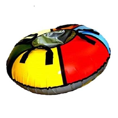 Санки-ватрушка ЛендТур Скат-Т 95см с автокамерой, 140 кгСанки<br>Одна из самых популярных моделей надувных санок-ватрушек. Эти санки имеют оптимальный размер и будут удобны и детям и взрослым.<br>