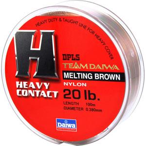 Леска Team Daiwa Line Heavy Contact 20Lb (22956)Монофильные лески<br>Оптимальный баланс низкой растяжимости и высокой чувствительности<br>