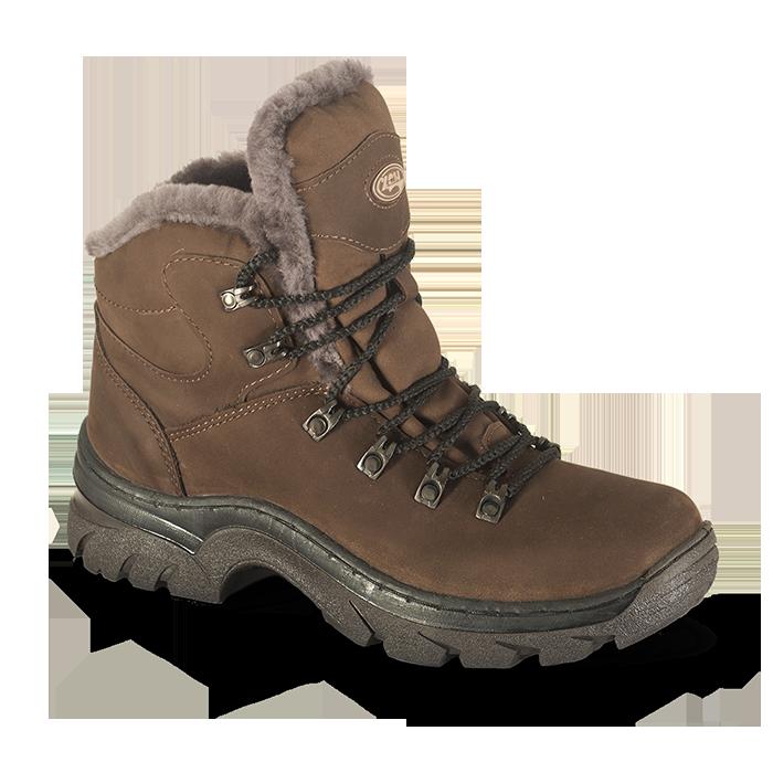 Ботинки ХСН Трекинг-VIP (натуральный мех) (40) 521-1 (95884)Ботинки<br>Обувь предназначена для эксплуатации в условиях, приближенных к экстремальным. <br><br>Основной материал:    Гидрофобный нубук<br>Основная стелька:    Кожа КРС<br>Подошва:    ТЭП Шейкер<br>Крепление подошвы:    Клеепрошивное<br>Вкладная стелька:    натуральный мех + ...<br>