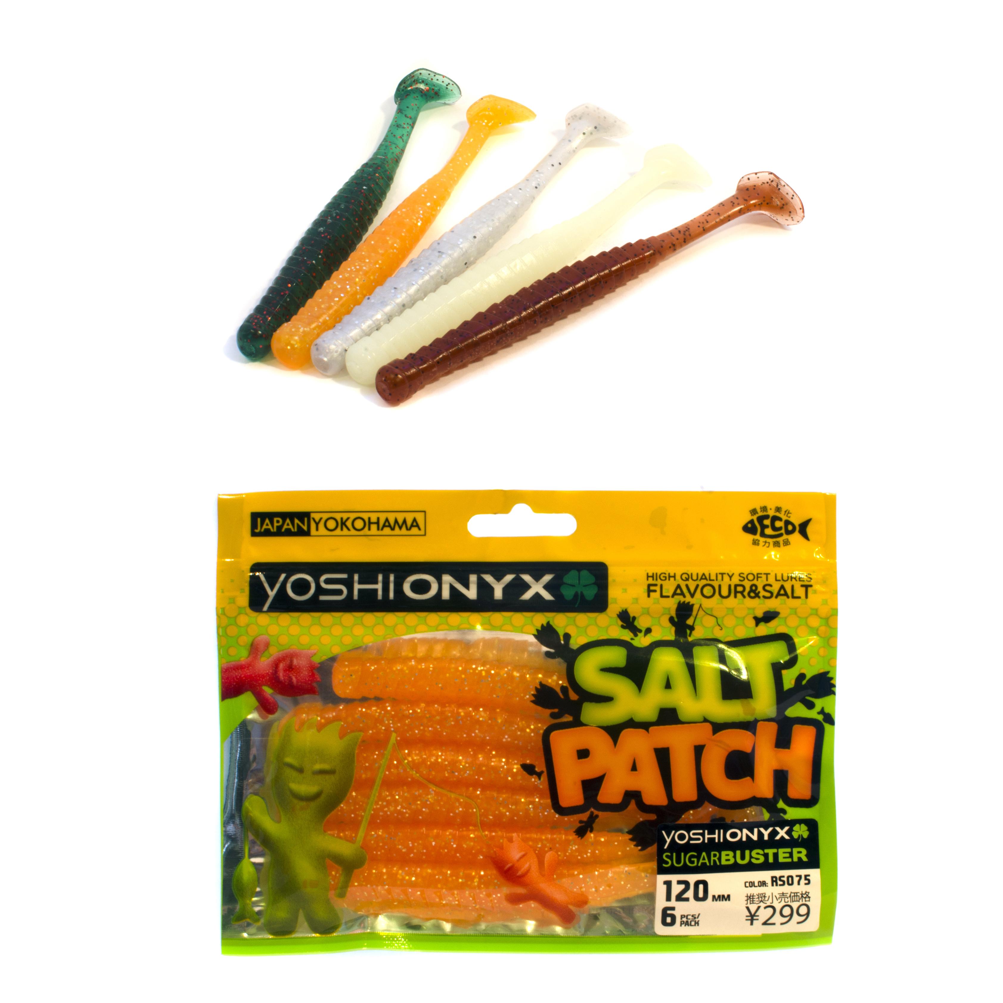 Приманка Yoshi Onyx Salt Patch SugarBuster 4.7Мягкие приманки<br>Новая линейка мягких приманок от бренда Yoshi Onyx<br>