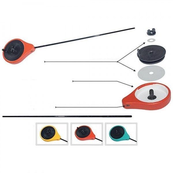 Удочка зимняя Salmo Precise Drag зеленая (96695)Удочки зимние<br>Удочка зимняя Salmo PRECISE DRAG - Легкая и удобная удочка для зимней ловли на мормышку. Корпус удочки изготовлен из высококачественного пенопласта. Для обеспечения плавного торможения, в механизме катушки используются лавсановые шайбы, расположенные как ...<br>