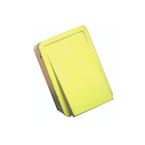 Мотыльница Salmo ГX 7,5х5х2,8см желт. 915-03Коробки для приманок и мотыльницы<br>Для того, чтобы сохранить мотыля в привлекательном для рыбы виде, подойдет мотыльница данной серии. Одинаково хорошо подходит к применению и в летнее и в зимнее время года. В основе лежит материал – пенопласт. Благодаря мотыльнице прикормка всегда будет н...<br>