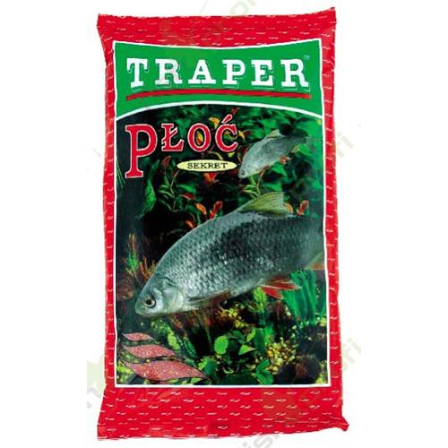 Прикормка Traper Secret Roach Red (Плотва красная) 1кг 00031Прикормки<br>Серия прикормок Secret разработана экспертами фирмы TRAPER для рыбалки в таких условиях, когда необходима прикормочная смесь определённого цвета. Ведь, к примеру, в холодной и прозрачной воде рыба, как известно, смелее подходит на прикормку тёмных тонов,...<br>
