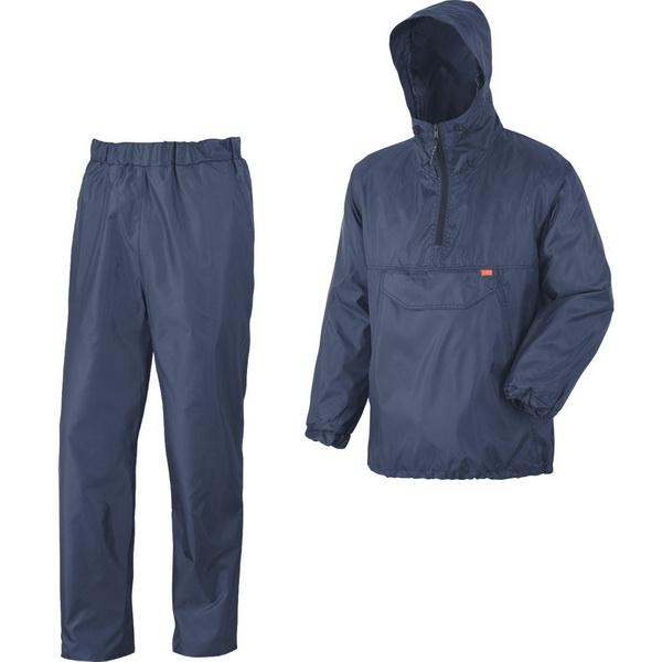 Костюм NovaTour Турист XXL/60-62 СинийКостюмы/комбинзоны<br>Легкий водонепроницаемый костюм с нагрудным карманом на куртке-анорак  из прочной ткани. Брюки на поясе с резинками.<br>