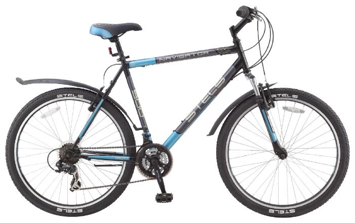 Велосипед Stels Navigator-500 V 26.15Велосипеды Stels<br>Стелс Навигатор 500 очень популярная модель и одна из самых продаваемых моделей в России. У велосипеда красивый и стильный дизайн, на таком велосипеде можно покрасоваться в любом месте. Он собран на основе прочной и надежной стальной рамы, которая легко в...<br>