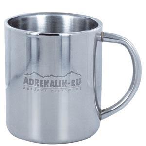Кружка Adrenalin Metal Cup  285MПосуда туристическая<br>Термокружка с двойными стенками и не нагревающейся ручкой. Кружка имеет небольшой вес. Материал - нержавеющая сталь. Емкость, мл: 285.<br>