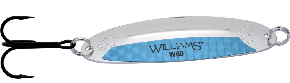 Блесна колеблющаяся Williams Wabler 1.7-EBБлесны<br>Wabler – это универсальные приманки, которые одинаково хорошо работают в широком диапазоне скоростей проводки, сохраняя стабильность хода.<br>
