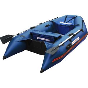 Надувная ПВХ лодка Nissamaran Musson 290 с пайолом, цвет синий