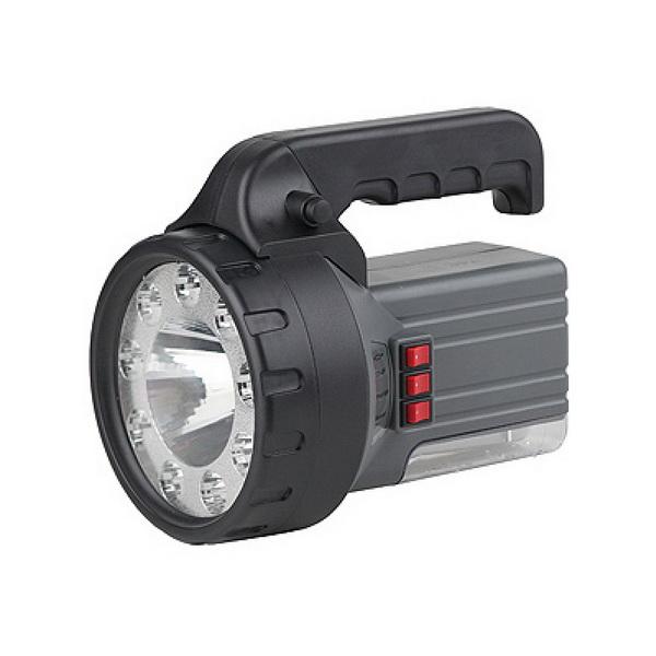 Фонарь Эра FA58M Акку 2Ah, 1W+9+18 LED, ЗУ 220V, карт