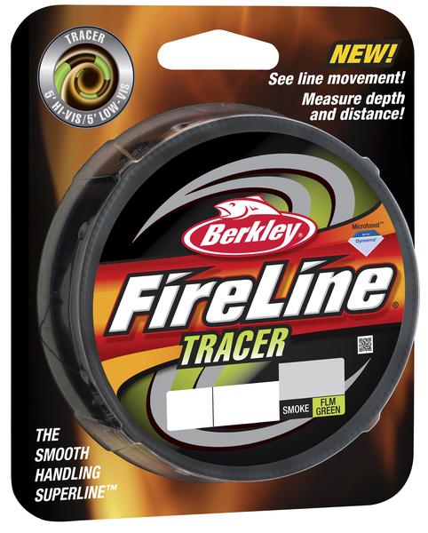 Леска плетеная Berkley FireLine Fused Tracer 0.12 (92853)Плетеные шнуры<br>Новая версия шнура с чередованием участков двух цветов дает вам еще больше преимуществ. Вы лучше видите  шнур при забросе, так как чередующие цвета создают мелькание, повышающее четкость. Используйте смену цветов, чтобы считать глубину погружения приманки...<br>