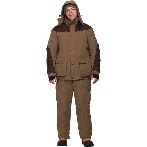 Костюм демисезонный, рыболовный Cosmo-Tex Карху (КВ, Оксфорд 420 D, рис.YL-014, р.96-100, рост 182-188) (81156)Костюмы/комбинзоны<br>Зимний маскировочный костюм, состоящий из куртки, брюк, рукавиц и чехла для удобной транспортировки. Все необходимые вещи можно хранить в двух объемных карманах, застегивающихся на пластиковые молнии.<br>