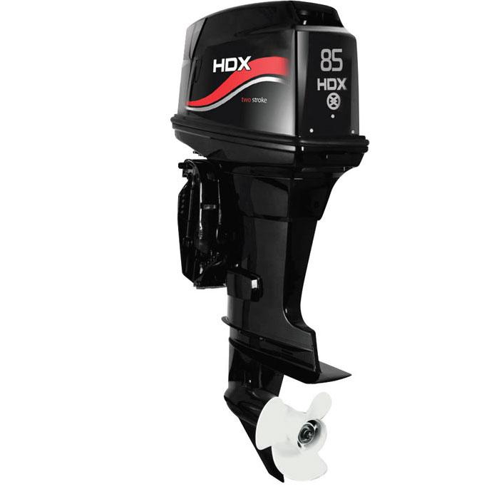 Лодочный мотор 2-х тактный HDX T 85 FEX-TПодвесные моторы<br>Двухтактные лодочные моторы HDX - это компактные и надежные двигатели. Благодаря простоте конструкции эти моторы абсолютно неприхотливы в обслуживании.<br>