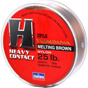 Леска Team Daiwa Line Heavy Contact 25Lb (22957)Монофильные лески<br>Оптимальный баланс низкой растяжимости и высокой чувствительности<br>