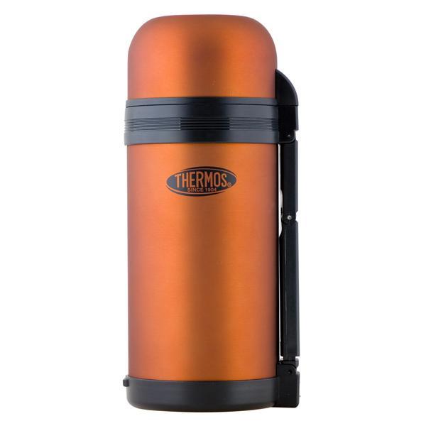 Термос Thermos Multi Purpose Flask 1.2L Rubberzide CooperТермосы<br>Отличная классическая модель термоса с универсальным горлом. Термос хорошо использовать  на отдыхе на природе или в походе. Тепло удерживается в течение 8 часов. Страна-производитель – Китай.<br>