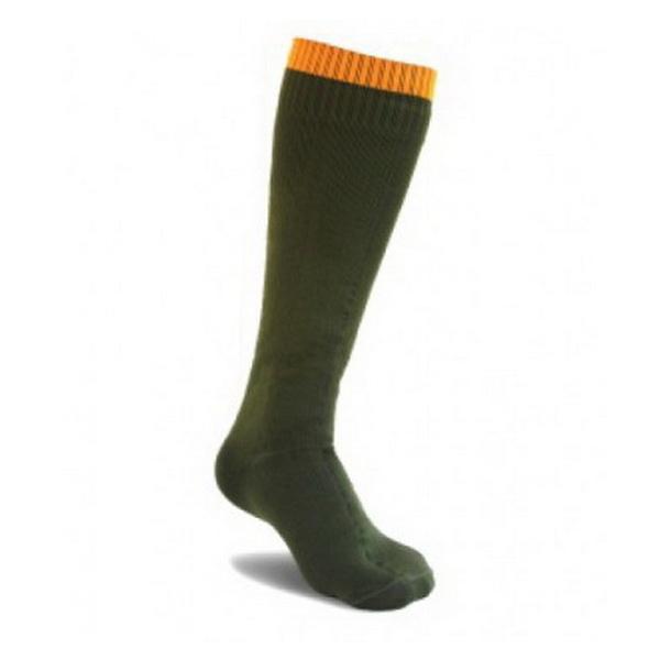 Носки KeepTex длинные до колена (Country Sock) M, ЗеленыйНоски/Гетры<br>Непромокаемые носки KeepTex до колена предназначены для активных занятий спортом и любого вида деятельности в разных погодных условиях.<br>