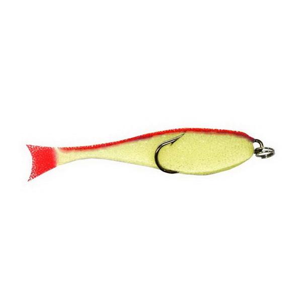 Купить Приманка Контакт поролон. рыбка (двойник),10см желто-красн (79407) в России