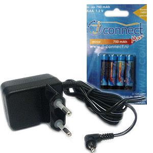 Комплект зарядное устройство для р/ст SP 3380 + 4 AAA аккумулятораЗарядные устройства<br>Комплект: зарядное устройство для радиостанции JJ-CONNECT SP3380   4 ААА аккумулятора.<br>