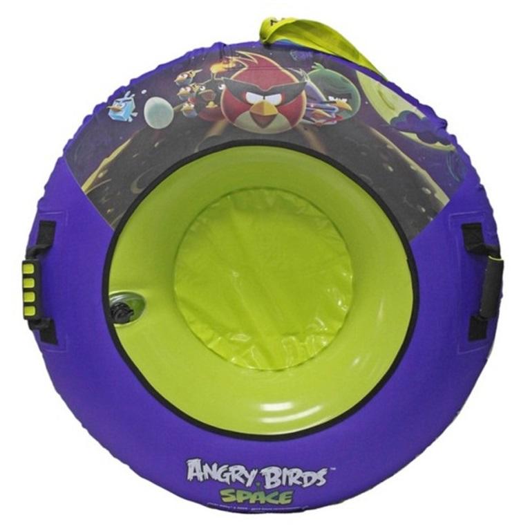 Сани ЛендТур надувные Angry Birds 92см T56362Санки<br>Тюбинг  надувные сани  с внутренней камерой из ПВХ, наружным чехлом из нейлона и ламинированного ПВХ.<br>