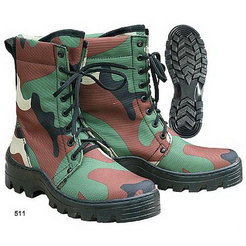 Ботинки ХСН Турист (камуфляж) (44) (63013)Ботинки<br>Обувь для осенних походов, охоты или рыбалки, с тканевым верхом и толстой подошвой.<br>
