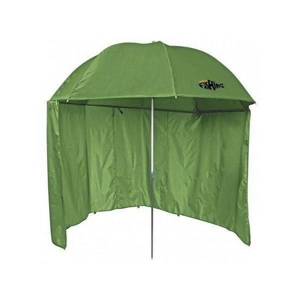Зонт Holiday универсал. Fishing 20 HF-1020Зонты<br>Универсальный зонт, имеющий большой размер и отлично подходящий для применения на рыбалке. Угол наклона регулируется специальным механизмом.<br>