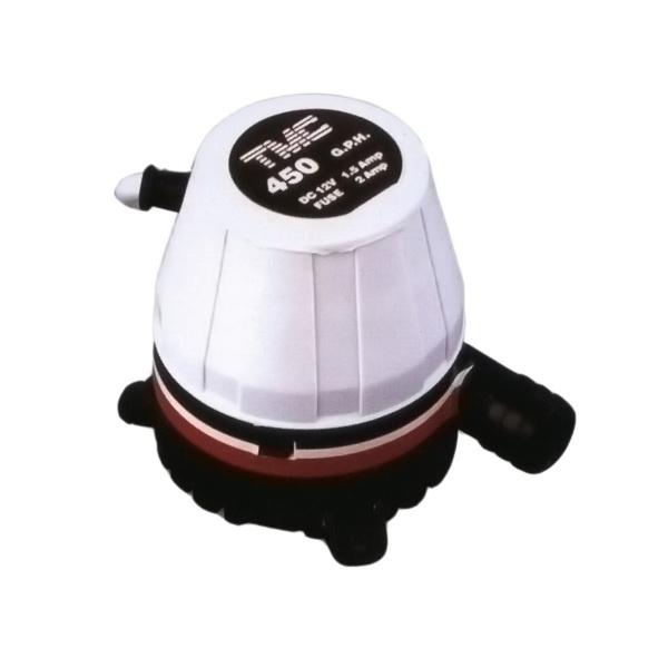 Насос Техномарин осушительный 450GPH, 12В 10101Насосы для осушения<br>Осушительный насос, предназначенный для удаления воды из трюмного пространства на судне.<br>