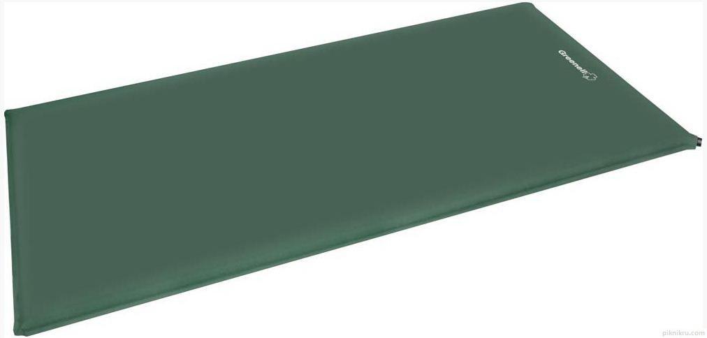 Самонадувающийся коврик NovaTour Комфорт Зеленый