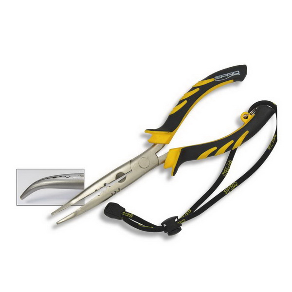 Плоскогубцы Spro Bent Long Nose Pliers 23См.Инструменты<br>Новейшая модель для заядлых хищников рыболовов. Компания - производитель гарантирует эффективность и надёжность предлагаемого товара.<br>
