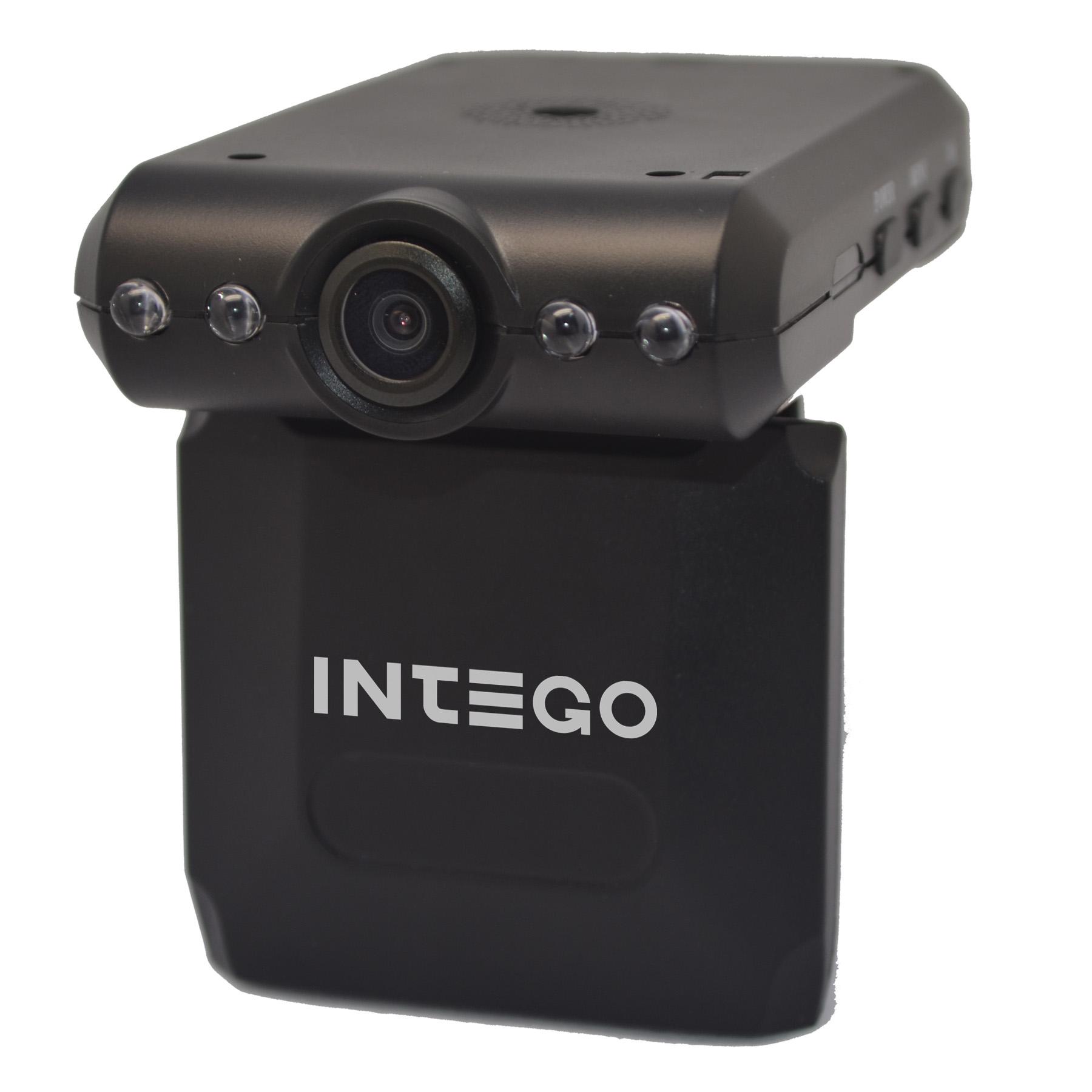 Видеорегистратор Intego VX-120SВидеорегистраторы<br>Самый дешевый видеорегистратор с подсветкой и откидным экраном имееющий все необходимые функции.<br>