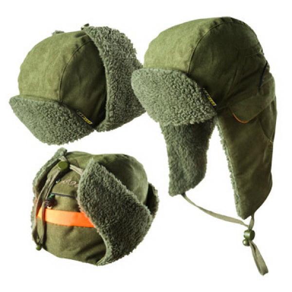 Шапка Graff зимняя искусственный мех (оливковая) 161-О-ВШапки/шарфы<br>Теплая шапка с искусственным мехом, удобными застегивающимися наушниками и светоотражающей полосой.<br>