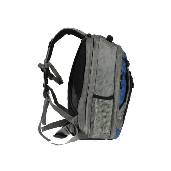 Рюкзак NovaTour Трэвел 35 (серый/синий)Рюкзаки<br>Отличная идея для тех, кто постоянно пользуется ноутбуком.<br>