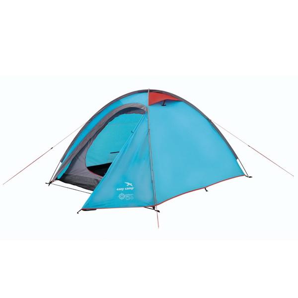 Палатка Easy Camp Meteor 200 2-х местнаяПалатки<br>Туристическая палатка, которая имеет спальню и прихожую. В прихожей можно хранить вещи, освобождая тем самым дополнительное место внутри палатки.<br>