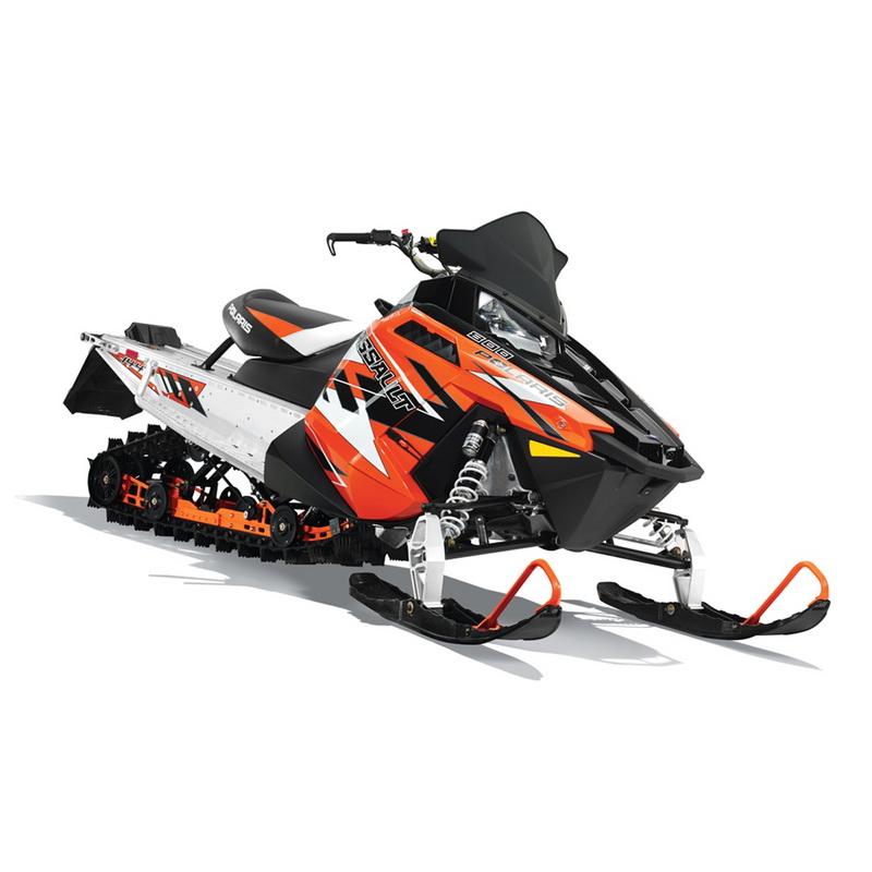 СнегоходPolaris 800 Switchback Assault 144 LTD orange/black 2015Снегоходы<br>Многофункциональный снегоход двойного назначения. Модель оснащена рулем и задней подвеской и в целом нацелен на езду по укатанному снегу, нежели по пересеченной местности.<br>