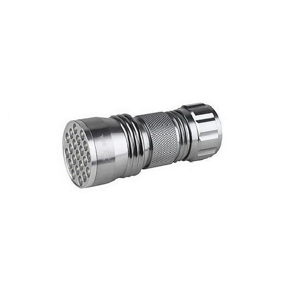Фонарь Эра SD21 21xLED, алюм, 3хААА, блФонари ручные<br>Светодиодный фонарь, оснащенный алюминиевым корпусом. Световой поток осуществляется за счет 14 белых светодиодов.<br>