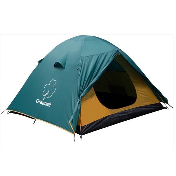 Палатка NovaTour Гори 3 ЗеленыйПалатки<br>Отличная палатка для тех, кто любит проводить время на природе. Вместимость палатки до трех человек. Имеется два входа и два тамбура.<br>