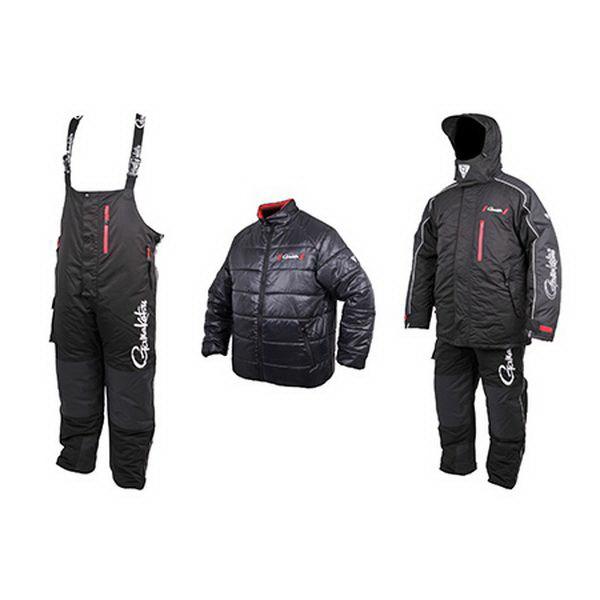 Костюм Gamakatsu Hyper Thermal Suits BlackКостюмы/комбинзоны<br>Костюм для экстремальных условий – это Gamakatsu Hyper Thermal Suit. Материалы, которые используются в этом костюме дают возможность рыбачить при температурах до -30° C.<br>
