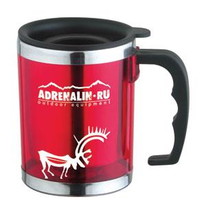 Термокружка Adrenalin Traveler Origin 370Термокружки<br>Термокружка со стальной колбой надолго сохранит температуру, вкус и аромат напитка.<br>Емкость, мл: 370.<br>