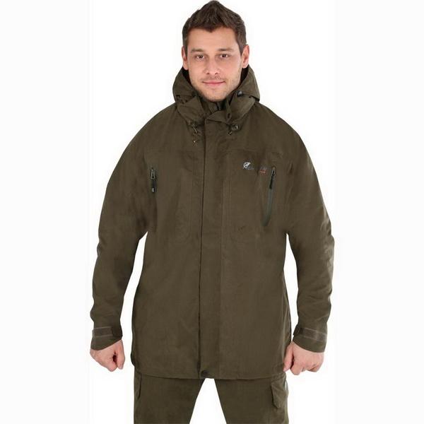 Куртка NovaTour рыболовная Коаст XL, Хаки (78360)Куртки<br>Куртка рыболованая с подкладкой.<br>
