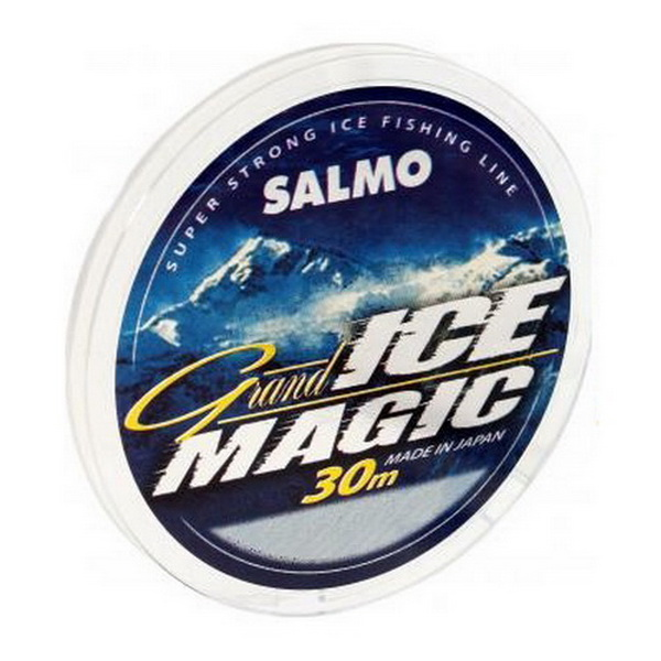 Монолеска Salmo зим. Grand Ice Magic 030/0.16 (56449)Леска зимняя<br>Современная монофильная леска для ловли зимой. Изготовленная в Японии с использованием самого высококачественного сырья и новейших технологий.<br>